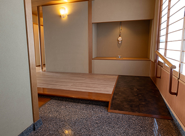 特別室「利久」 玄関